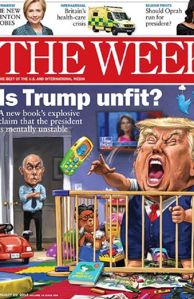 The Week looks at Michael Wolff's book on Donald Trump and whether he is mentally stable