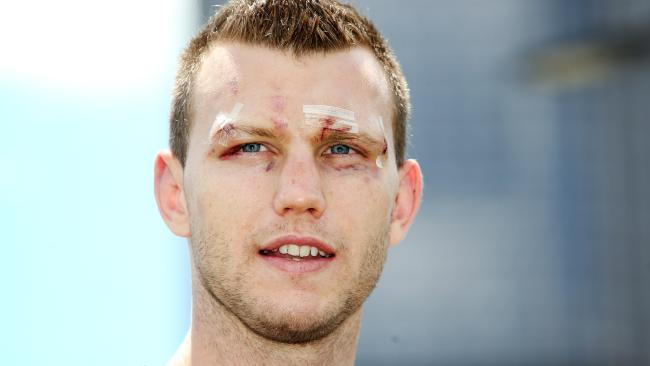 WBO welterweight champion Jeff Horn announces his next bout. File picture