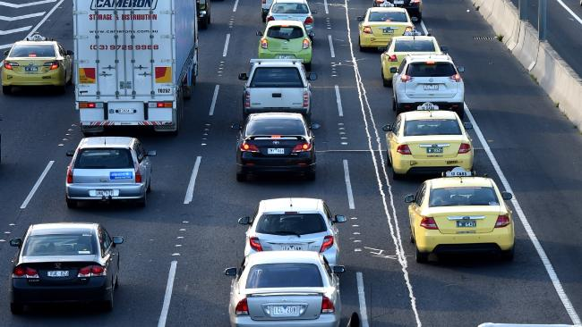 Traffic headaches will continue after crashes this morning. File image