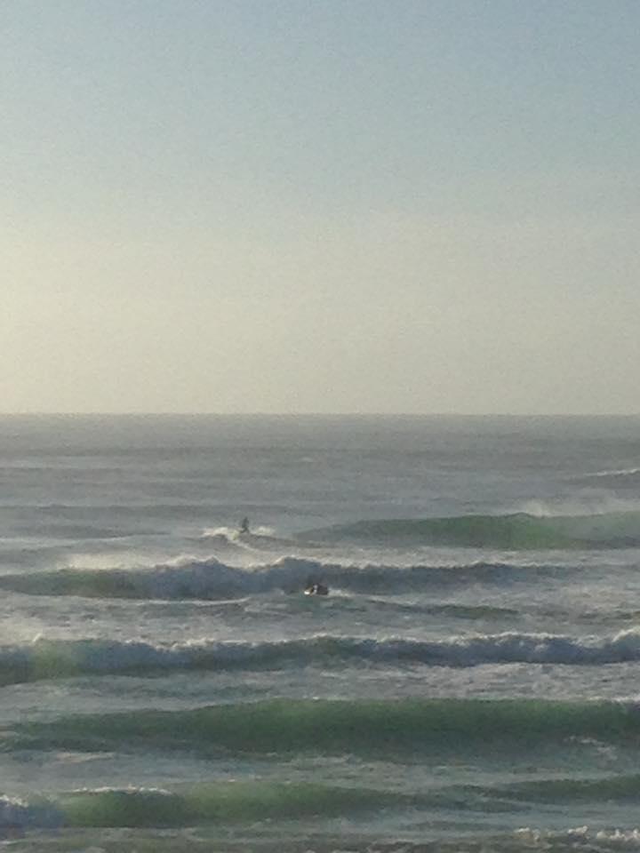 Jetskiers take to the water at Lighthouse Beach, Ballina.