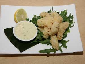 RECIPE: Salt and pepper calamari, prawns with garlic aioli