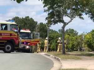 VIDEO: Fire crews at Gympie Lincraft