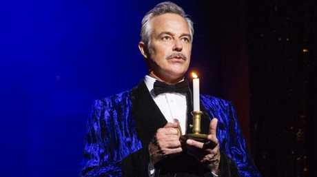 Cameron Daddo as The Narrator in The Rocky Horror Show.