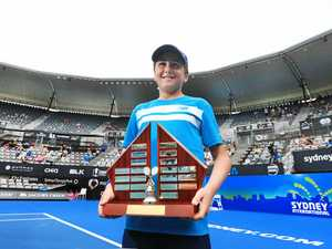 Caspian enjoys centre court victory