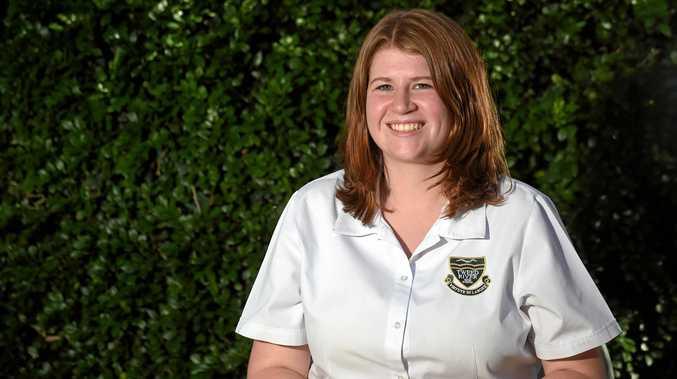 BIG HONOUR: Former Tweed River High School student Anna Wood.