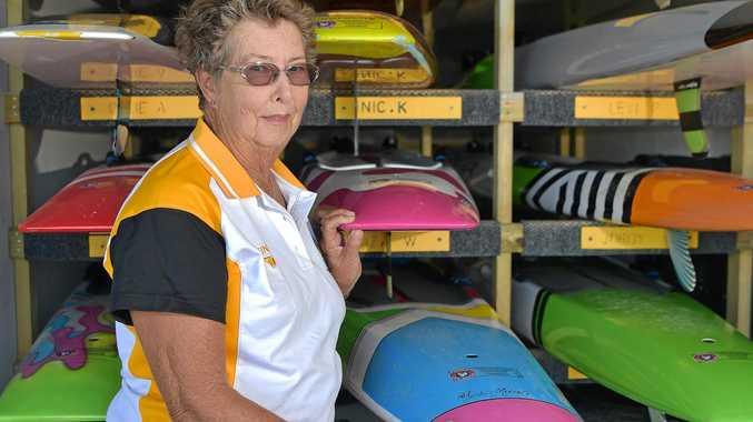 TRUE DEDICATION: Lorraine Buhk has been a volunteer at the Alexandra Headland Surf Club for 65 years.