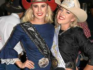 CROWNED: Miss Rodeo Australia named in Warwick