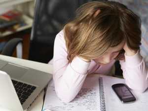 One in five children were cyber bullied last year. Generic picture: iStock