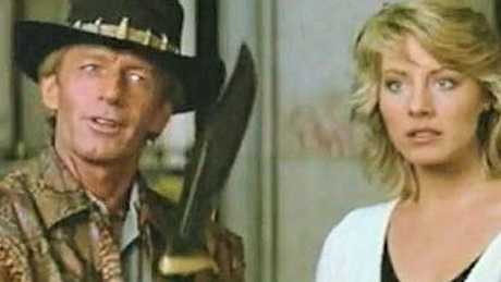 Look familiar? Paul Hogan as the original Crocodile Dundee.