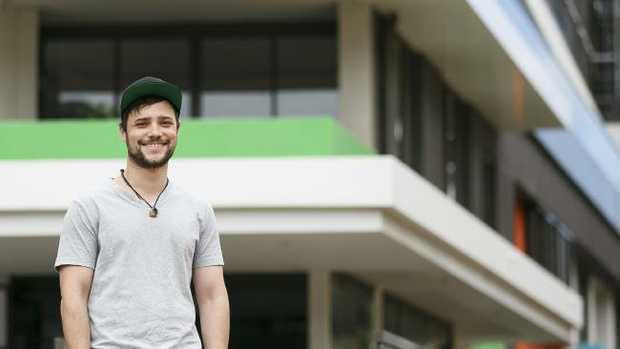 Harry Aznavoorian, 27, is buying his first home with help from his parents.