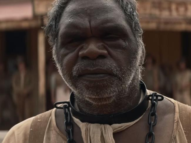 Hamilton Morris is mesmerising as stockman Sam Kelly in Sweet Country.
