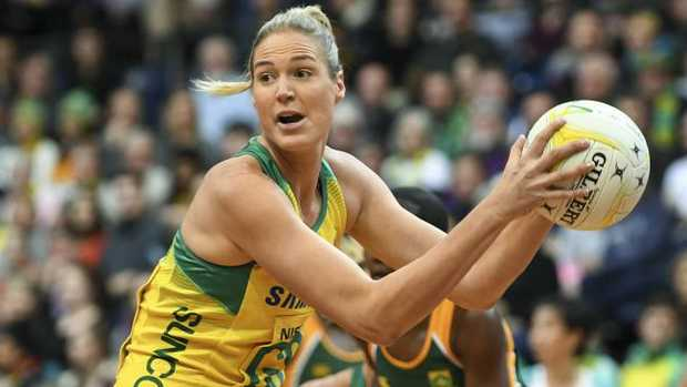 Caitlin Bassett is expected to lead Australia at the Commonwealth Games.