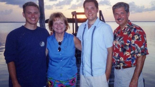 From left, Kevin, Tricia, Thomas and Kent Whitaker. Picture: Supplied