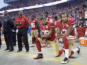 Stay off the field if you want to protest