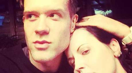 The Cranberries frontwoman Dolores O'Riordan and boyfriend, Ole Koretsky. Picture: Instagram