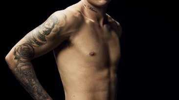Dustin Martin is the Bonds underwear ambassador.