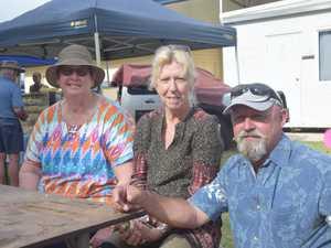 Carol Lloyd, Cheryl Wessling and Mel Wessling at the