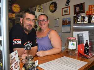 Ash and Linday Blake of The Rusty Ute Cafe in