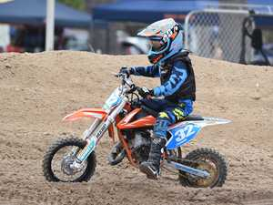 Hervey Bay Motocross practice day - Lewis Fretwell in