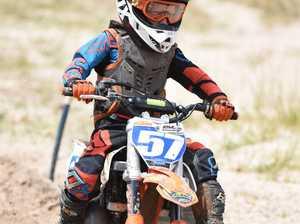 Hervey Bay Motocross practice day - Kyle Harvey in