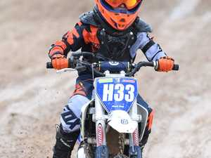 Hervey Bay Motocross practice day - Hunter Davis in