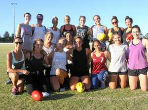 ON A MISSION: The new women's team at the Byron Bay AFL club are preparing for their first season.