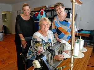 Jordan Hewitt designers Marlene Millers, Josephine Garner and Dee Holledge.