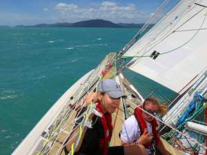 Sailing the Whitsundays on a Clipper 70