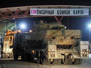 Turkey targets Kurds in attack on Syria