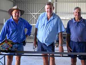 SHOW TIME: Frank Chiverton, Rob Parson and Graham Bradford preparing for the 2018 Dalby Show.