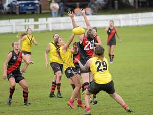 NEED IS THERE: Grafton Tigers hosted one of several AFL women's exhibition matches last season at Ellem Oval.
