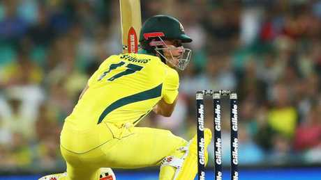 Marcus Stoinis scored 56 off 43 at the SCG.