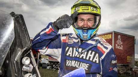 Rodney Faggotter finished 16th in the 2018 Dakar Rally. Pic: RallyZone / Edoardo Bauer