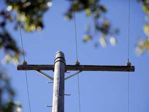 Driver blames tiredness for power pole crash