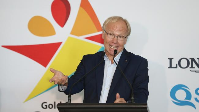 Commonwealth Games organising committee chairman Peter Beattie. Picture: Peter Wallis