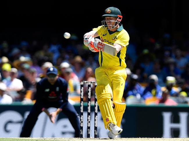 David Warner will lead the Australian campaign. Picture: Getty Images
