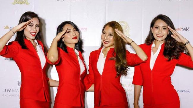 AirAsia's flight attendant uniforms were too much for one passenger.