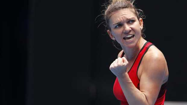 Simona Halep outlasts Lauren Davis in epic