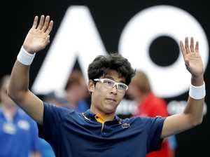 Korean upstages Djokovic at Open