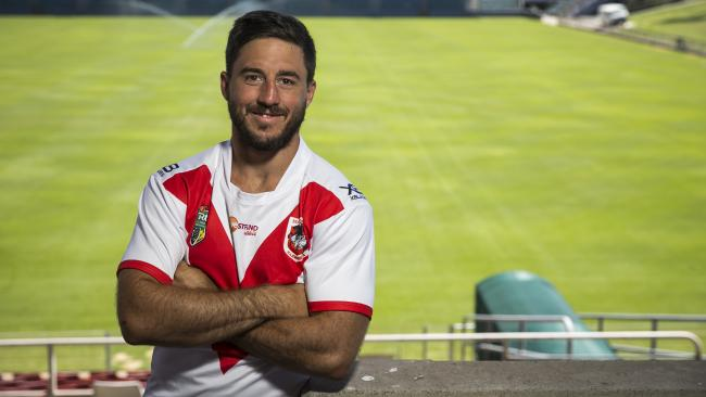 Million-dollar Dragons signing Ben Hunt is settling in nicely. Picture: Dylan Robinson