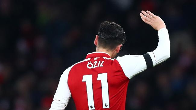 Mesut Ozil of Arsenal Getty Images)