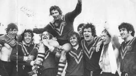 Graeme Langlands was part of a legenedary Kangaroos side.