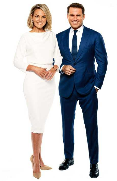 "Gardner dismisses the so-called tension between her and co-host Karl Stefanovic as ""hyped up""."