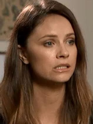 Christie Whelan Brown makes the allegations of sexual misconduct on ABC's 7:30. Picture: ABC
