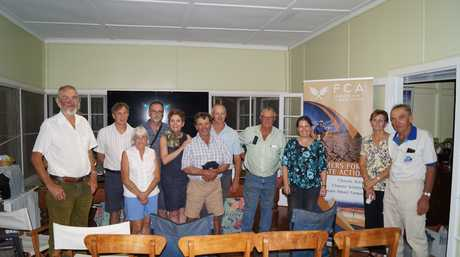 Farmers meet in Kulpi to discuss the impact of climate change on the agriculture industry.
