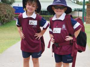 AS THE BELL RINGS: Prep students start school