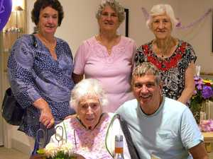 Centenarian's life filled with community service