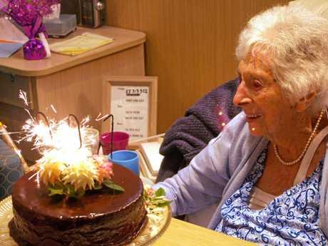 Joyce Glasheen celebrated her 100th birthday on January 2.