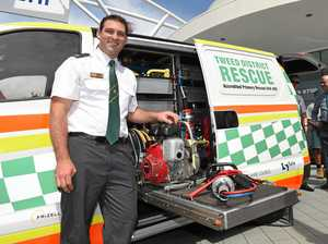 VIDEO: New van a coup for rescue squad