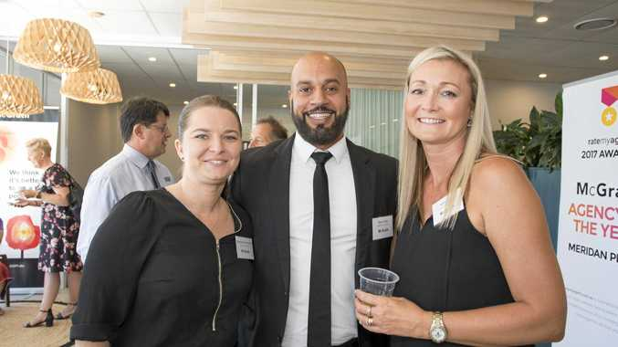 CHARITABLE BUSINESS: Natascha Drexel-Munro, Manjit Singh and Nicki Colam at the McGrath charity morning tea.